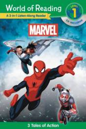 MARVEL WORLD OF READING  LISTEN ALONG SOFTCOVER WITH CD  ffbf6fc824e
