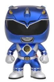 40ed5a41e3f POWER RANGERS BLUE RANGER METALLIC EB GAMES EXCLUSIVE POP! VINYL FIGURE